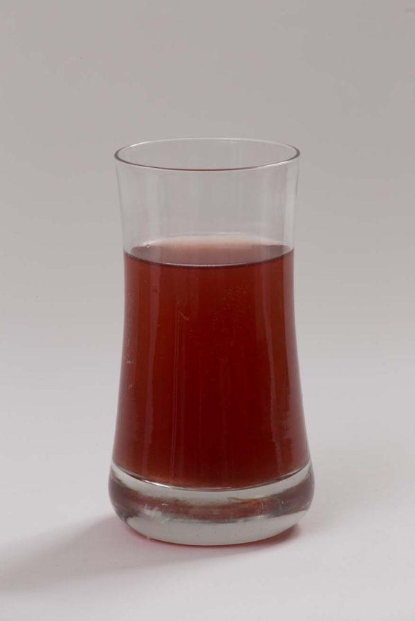 Háziszörp pohárban