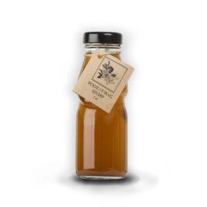 Bodzavirág szörp üvegben – 2dl