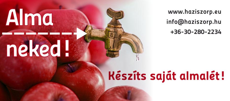 Készíts saját almalét!