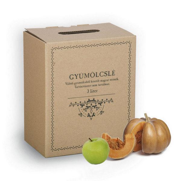 Sütőtök lé almával, 3 liter